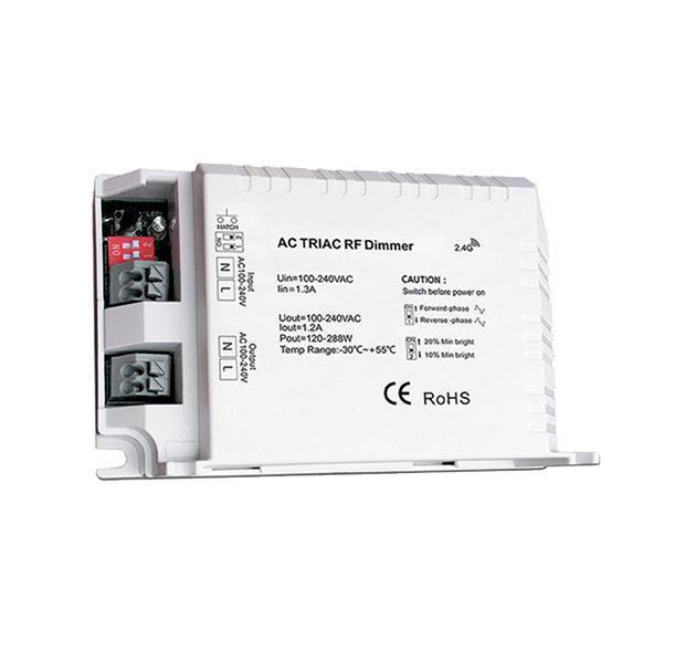 Fényerőszabályzó kapcsoló modul RF 288W