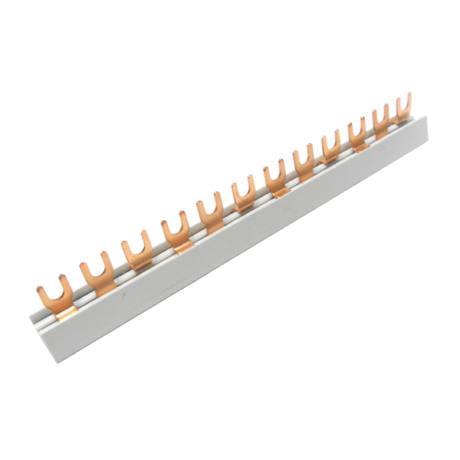 Fésűs sin 3 pólusú villás 18 modulhoz (1m)
