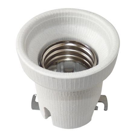 Foglalat E-40 porcelán talpas