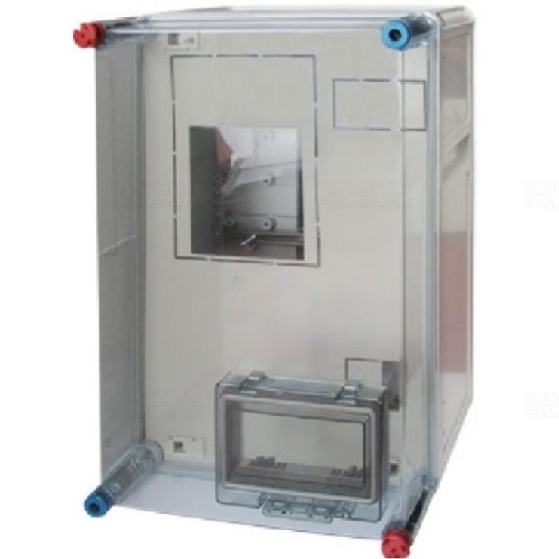 Fogyasztásmérő szekrény Hensel 1 vagy 3 fázisú IP54 300x450x185