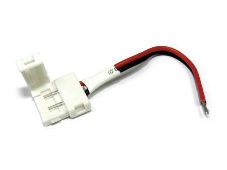 Forrasztásmentes betáp beltéri 3528-as LED szalaghoz
