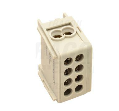 Fővezeték soroló sorkapocs 1-16 mm2 Szürke