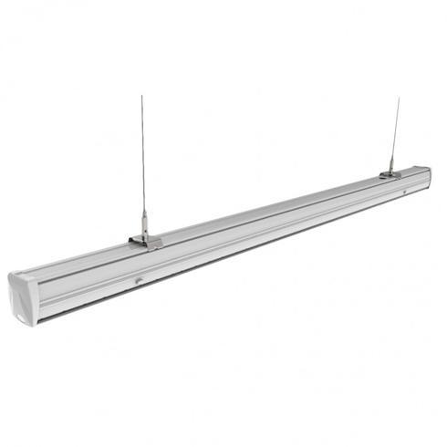 Függeszthető, sorolható mennyezeti LED lámpatest 50W IP20 4000K 8000Lm
