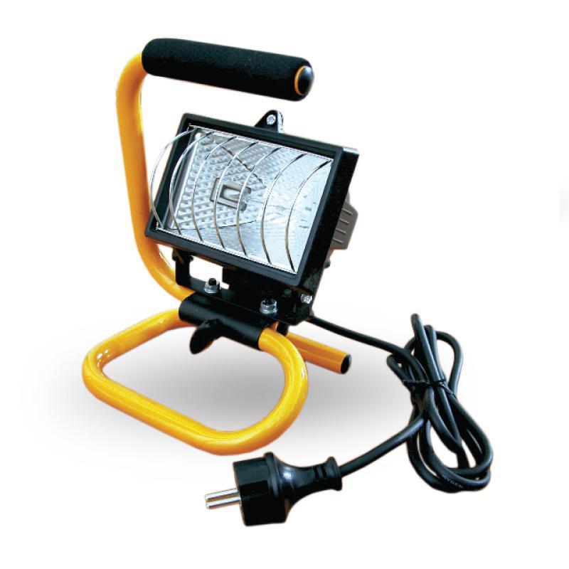 Halogén reflektor hordozható 150W