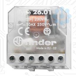 Impulzus relé 10A léptető relé 12V Finder