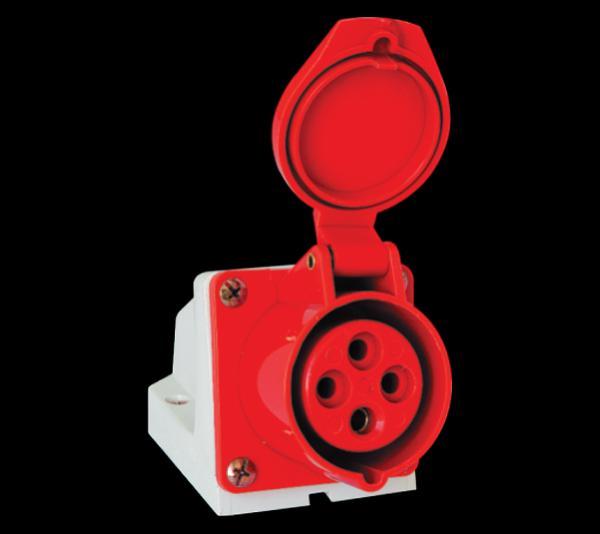 Ipari csatlakozó dugalj felületre 4P 32A