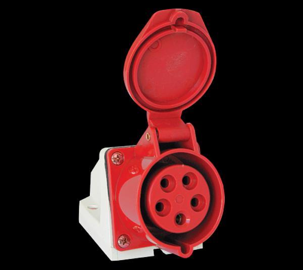 Ipari csatlakozó dugalj felületre 5P 16A