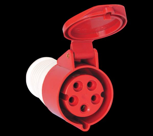 Ipari csatlakozó dugalj lengő 5P 63A