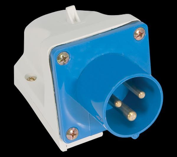 Ipari csatlakozó dugvilla felületre 3P 16A
