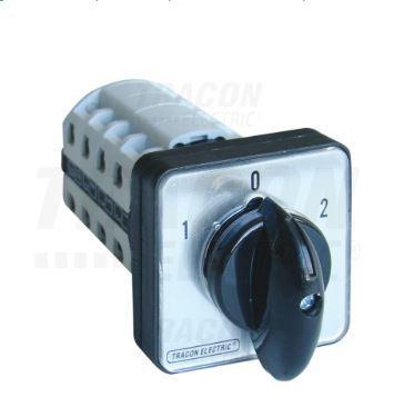 Ipari forgókapcsoló beépíthető 4P 25A választó kapcsoló