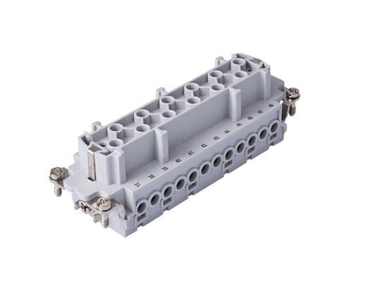Ipari nehézcsatlakozó, dugalj betét, 24x16A/500V/24P+F