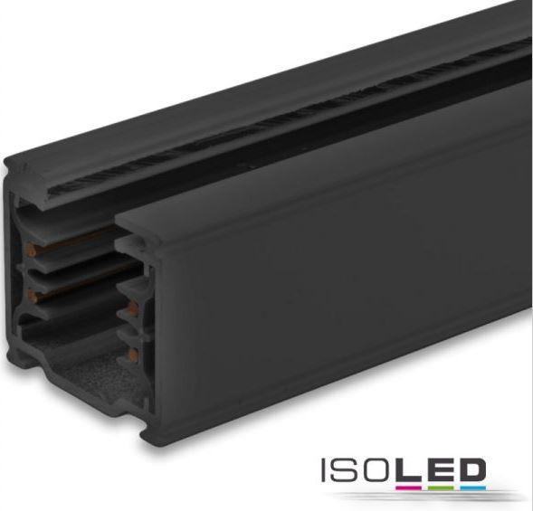 ISOLED sínes LED lámpához sín 2 méteres 3 fázisú fekete