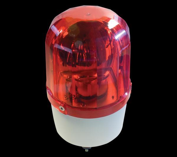 Jelző lámpa 12V 35W piros