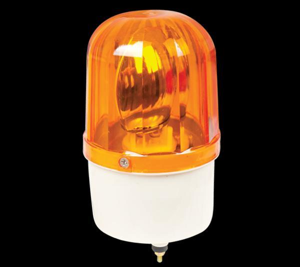 Jelző lámpa 230V 28W sárga