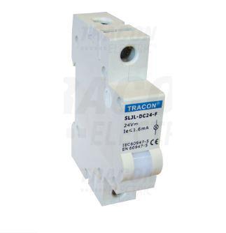 Jelző lámpa sínre szerelhető 24V Fehér