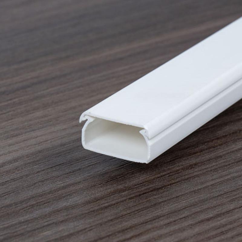 Kábelcsatorna 10x8 fehér