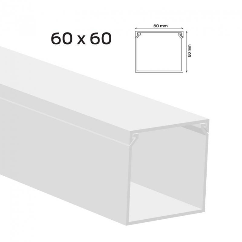 Kábelcsatorna 60x60