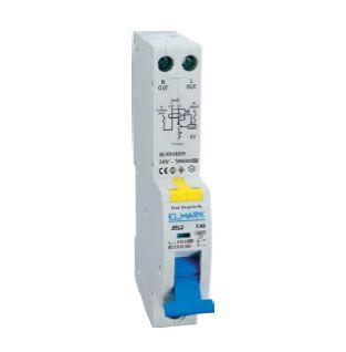 Kombinált védőkapcsoló elektronikus 2P 1 modul C16 30mA