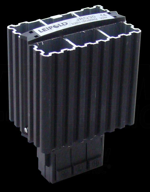 Kompakt elosztószekrény fűtőegység 100W sinre