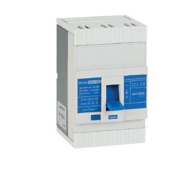 Kompakt megszakító MCCB DS1-125 16kA 100A