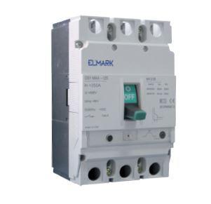 Kompakt megszakító MCCB DS1 MAX-125 36kA 125A
