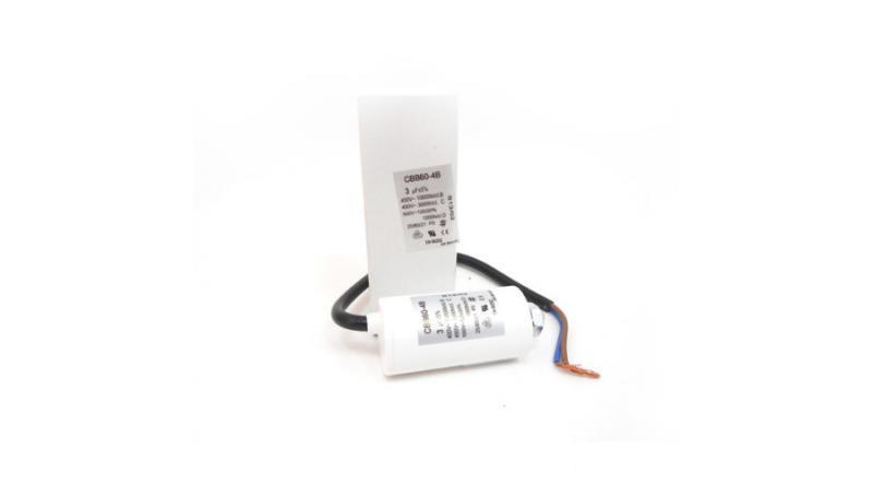 Kondenzátor állandó üzemre 4 μF vezetékes
