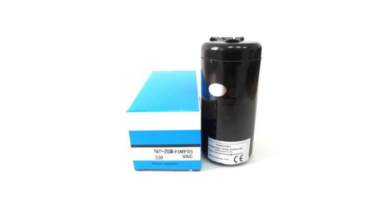 Kondenzátor indító üzemre 125-160 μF