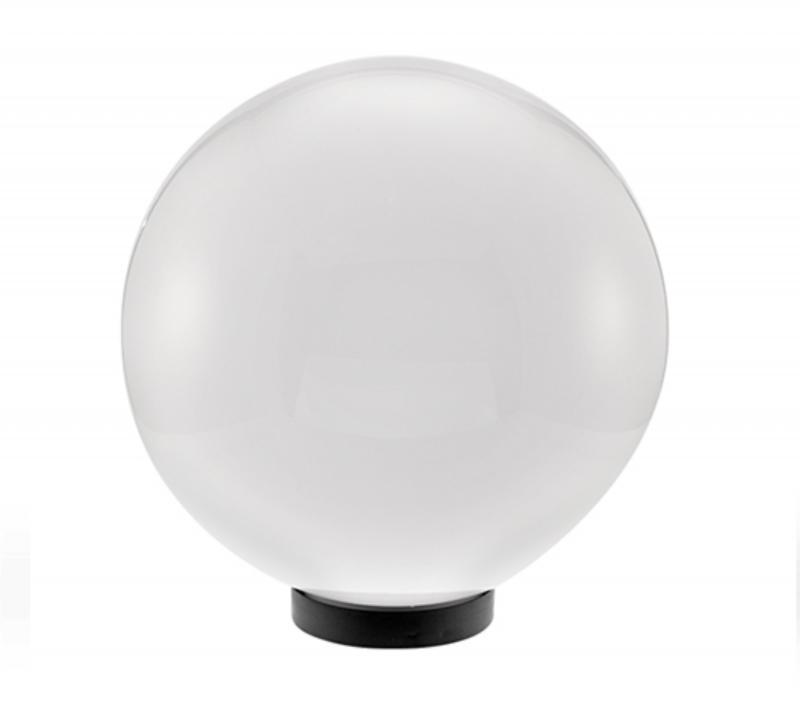 Kültéri lámpa falra, oszlopra PMMA 200mm opál