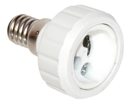 Lámpa foglalat átalakító E14-GU10