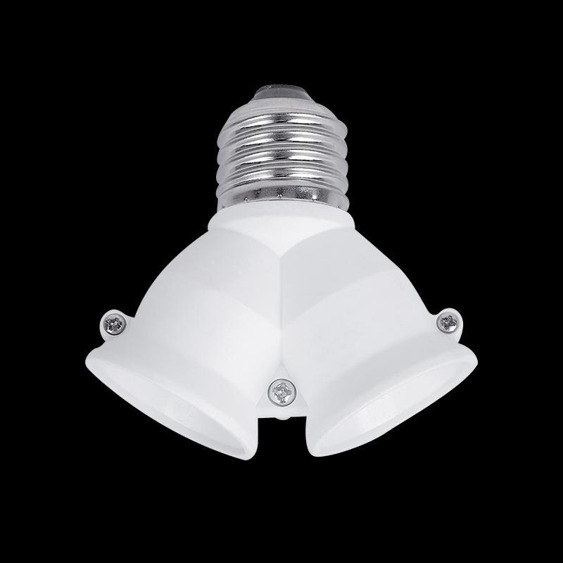 Lámpa foglalat átalakító E27-2xE27