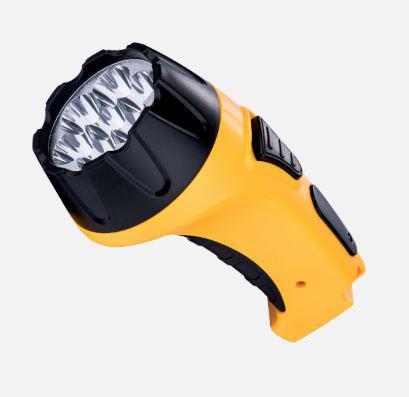LED akkumulátoros kézilámpa dinamós