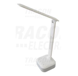 LED asztali lámpa szabályozható fényerő és színhőmérséklet beépített bluetooth zenelejátszó