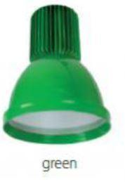 LED csarnokvilágító lámpatest 30W MINICOLOR-zöld