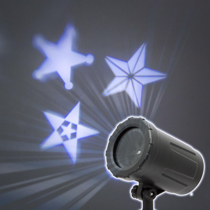 LED csillagos mini projektor