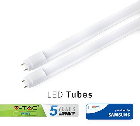Led fénycső 60 cm T8 10W Samsung chip meleg fehér