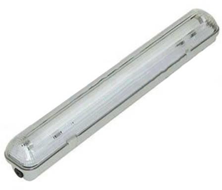 LED fénycsőre szerelt por és páramentes lámpatest 1x120cm