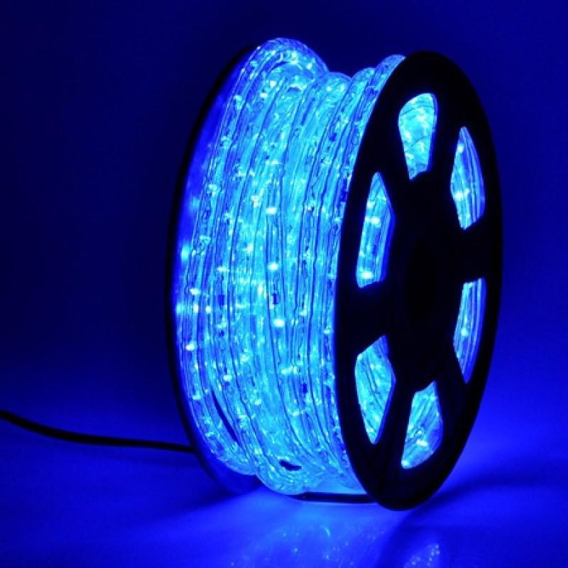 Led fénykábel kék TG