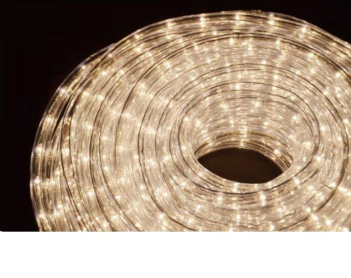 Led fénykábel meleg fehér 2,5W/m