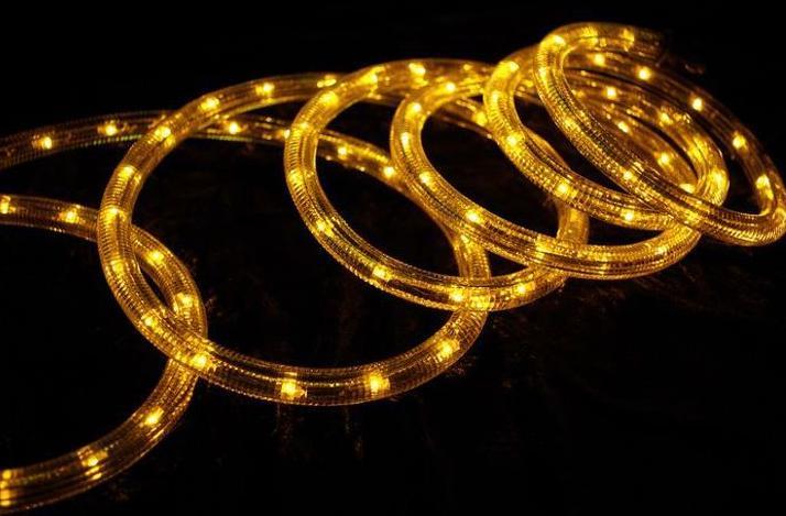 Led fénykábel sárga 2,5W/m