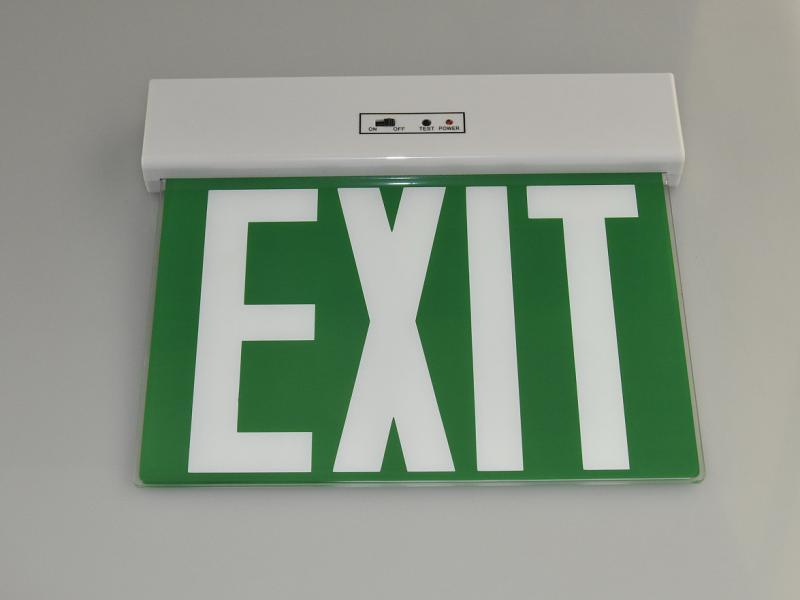 Led kijáratjelző lámpatest XL3115