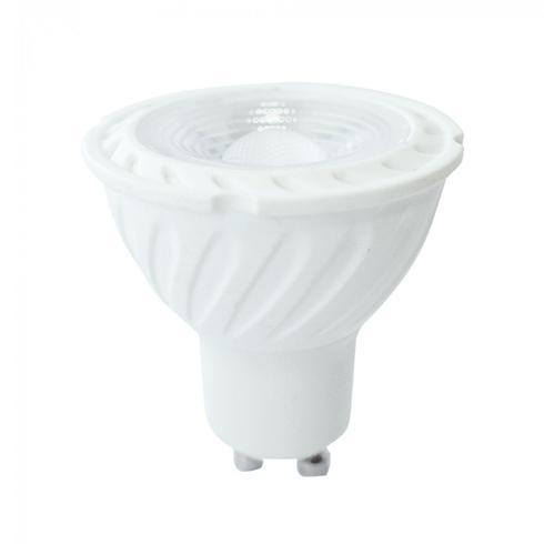 LED lámpa 6,5W GU10 230V dimmelhető MELEGFEHÉR LED 110°