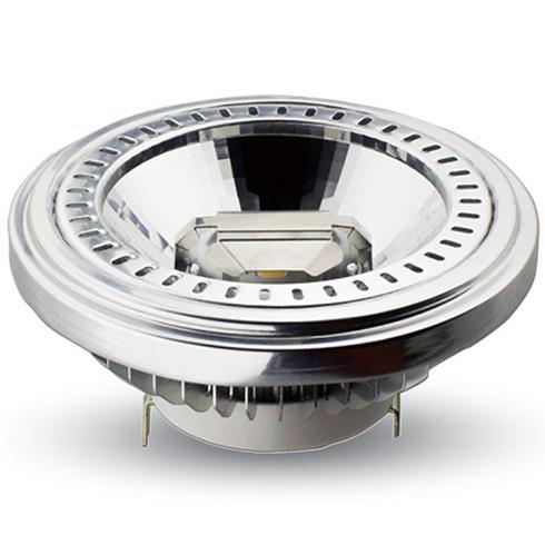 LED lámpa AR111 COB 15W  40° 12V hideg fehér