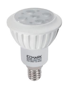 LED lámpa E-14 6W High Power meleg fehér