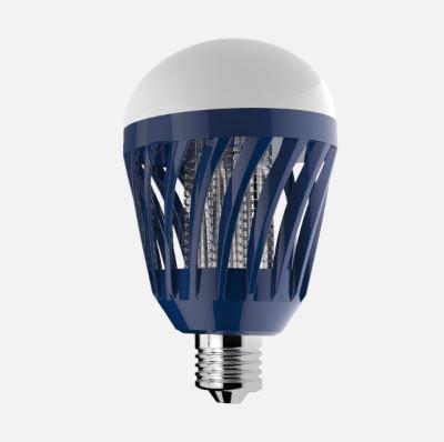 LED lámpa E-27 6W 4000K + elektromos rovarcsapda