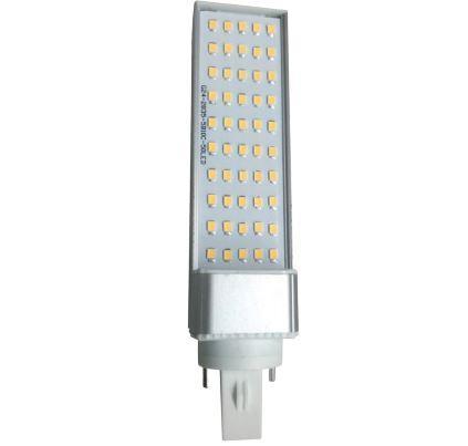 Led lámpa G24d PLC 10W meleg fehér 3000K