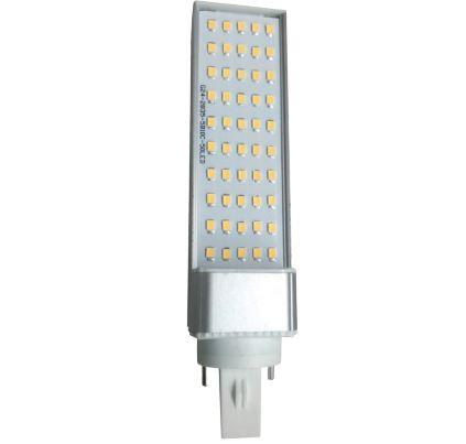 Led lámpa G24d PLC 15W meleg fehér 3000K