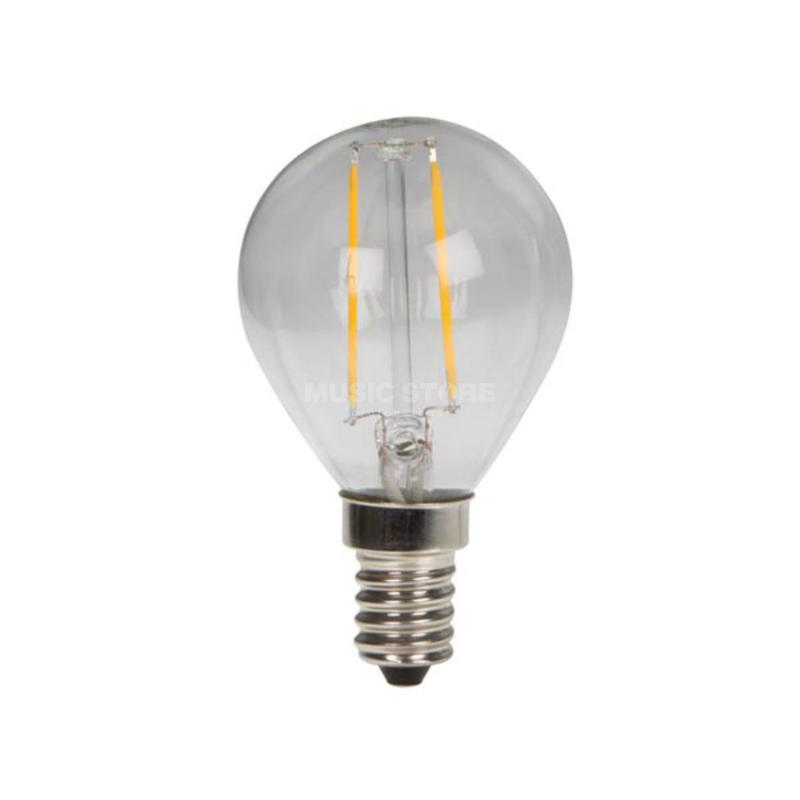 Led lámpa gömb clear COG E-14 2W 3000K