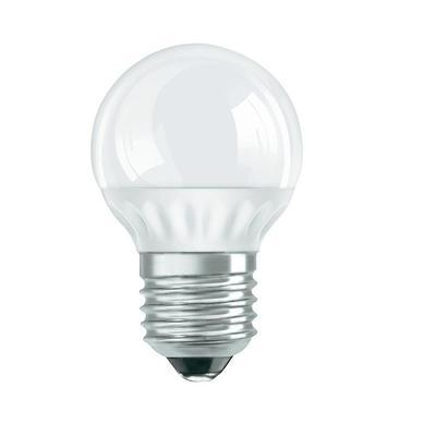 LED lámpa gömb E-27 4W hideg fehér