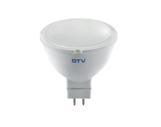 LED lámpa Gu-5.3 12V 4W meleg fehér GTV