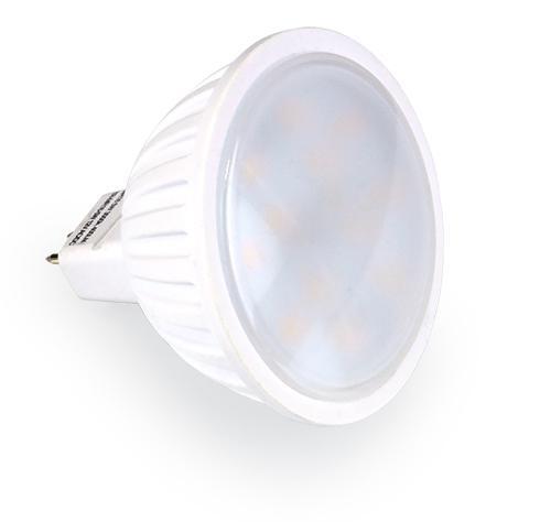 LED lámpa Gu-5.3 MR-16 12V 5W meleg fehér